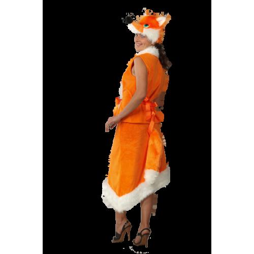 Карнавальный костюм Лиса взрослый