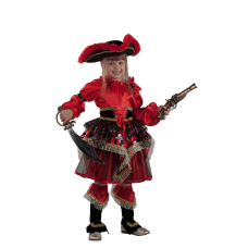 """Карнавальный костюм """"Пиратка красная"""""""