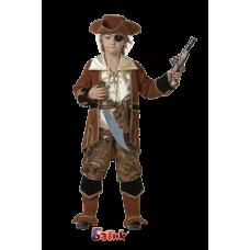 """Карнавальный костюм """"Капитан пиратов Коричневый"""""""