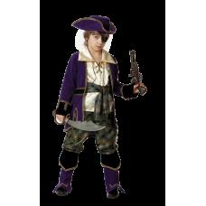 """Карнавальный костюм """"Капитан пиратов Лиловый"""""""