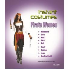 """Карнавальный костюм """"Пиратка морская для взрослых"""""""