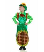 """Карнавальный костюм для мальчика """"Цветок Подсолнух люкс"""""""