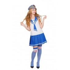 """Карнавальный костюм """"Морячка классика для взрослых"""""""