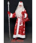 """Карнавальный костюм """"Дед Мороз с норкой для взрослых"""""""