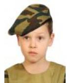 Военный берет камуфляж