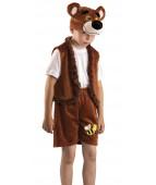 """Карнавальный костюм  """"Медведь бурый с вышивкой"""""""
