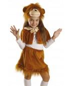 Карнавальный костюм «Обезьяна девочка»