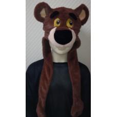 """Карнавальная шапочка """"Медведь бурый"""""""