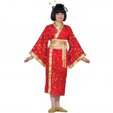 """Карнавальный костюм """"Японка длинное кимоно"""""""