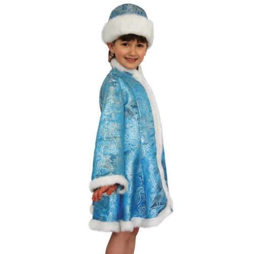 Карнавальный костюм Снегурочка детский для девочки купить в Москве. 943d2485858f4