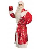 """Карнавальный костюм """"Дед Мороз парча для взрослых"""""""