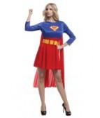 """Карнавальный костюм для женщин """"Суперменша"""""""