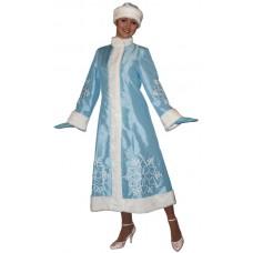 """Карнавальный костюм """"Снегурочка ручная вышивка для взрослых"""""""