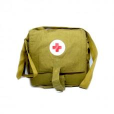Сумка медсестры ВОВ с красным крестом, оригинал
