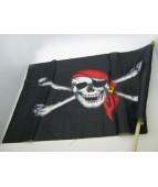 Флаг Пирата с Веселым Роджером 60 см