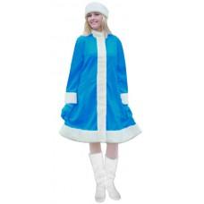 """Карнавальный костюм """"Снегурочка большого размера (3 цвета)"""""""