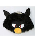 """Карнавальная шапочка """"Монстрик черный Ферби Бум (Furby Boom)"""""""