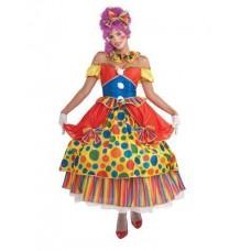 """Карнавальный костюм """"Клоунесса Горошек для взрослых"""""""