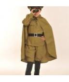 Плащ-палатка  военная детская