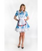 """Карнавальный костюм """"Алиса в стране чудес"""" для взрослых."""
