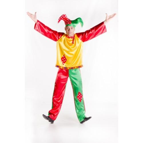 Карнавальный костюм для мужчины Русский скоморох купить Модель Мужчина Русский