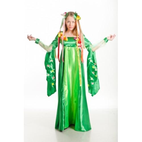 Карнавальный костюм для взрослых Весна в народном стиле - photo#33