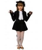 """Карнавальный костюм """"Черная кошечка (2 цвета)"""""""