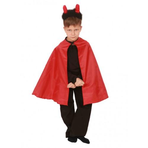 """Карнавальный костюм для мальчика """"Чёрт"""" (Дьявол, Мефистофель, Бес)"""