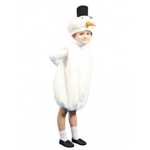 Карнавальные костюмы снеговика для мальчика