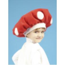 """Карнавальная шапка """"Гриб Мухомор"""""""