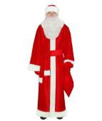 """Карнавальный костюм """"Дед мороз тафта (2 цвета)"""""""