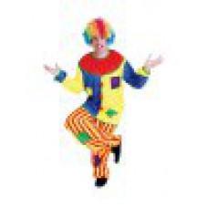 """Карнавальный костюм """"Клоун с заплатками для взрослых"""""""