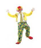 """Карнавальный костюм """"Клоун комбинезон для взрослых"""""""