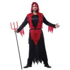 """Карнавальный костюм """"Дьявол в черном для взрослых"""""""