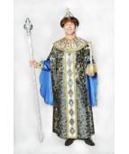 """Карнавальный костюм """"Царь в изумрудном для взрослых"""""""
