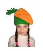 """Карнавальная шапочка """"Морковь"""""""