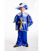 "Карнавальный костюм ""Мушкетер"" синий."